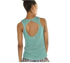 icyzone Yoga Tops Activewear Clothes Open Back Fitness Racerback Tank Tops
