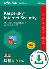 Kaspersky Internet Security 1 Device 1 Yr PC/Mac/iOS Official Kaspersky Download