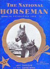 "Saddlebred, Tennessee Walking Horse ""VINTAGE"" National Horseman Christmas 1963!!"