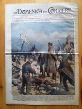 La Domenica del Corriere 3 ottobre 1937 Asturie - Ponte Vomano - Hitler Germania