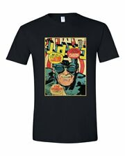 Stan Lee Captain America Comic Book Cover Graphic T Shirt Marvel Super Heroes