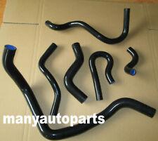 For Honda Civic EG EK D15 D16 1992-2000 Silicone Coolant Radiator Hose Kit Black
