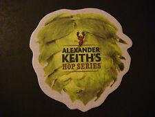 Beer Bar Coaster ~*~ ALEXANDER KEITH'S Nova Scotia Brewery Hop Series ~*~ CANADA