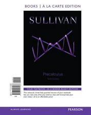 Precalculus Michael Sullivan 10th Edition Loose Leaf a la Carte in Binder
