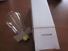 4 Pack 110V 60W Light Bulb Squirrel Cage Filament MED Base Vintage Retro Edison