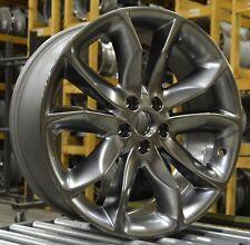 "20"" Ford Explorer 11 12 13 14 15 Factory OEM Rim Wheel 3861 Gunmetal Silver Set"