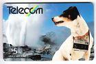 OCEANIE TELECARTE / PHONECARD .. NOUVELLE ZELANDE 5$ GPT 162BD CHIEN DOG