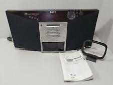 Sony zs-m7 Minidisc Player CD Player Radio Musik System