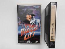 REBELL VIDEO - BLOOD CITY / HORROR THRILLER TROMA *VHS ONLY! NO DVD!* / FSK 18