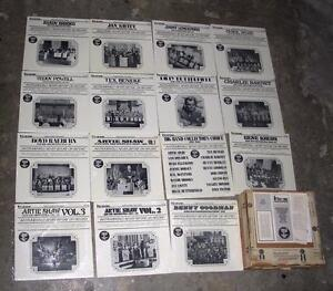 15 Vinyl LPs Greatest Bands of the 30's & 40's mostly unopened First Time Record