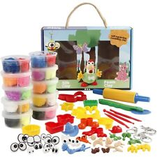 Foam Clay and Silk Clay Set Complete With Accessories
