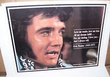 "Elvis Presley The Boston Globe United Press International Photo Print 12""X9 1/2"""