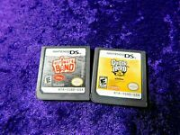 Nintendo DS 2 game lot! Disney's Ultimate Band & Guitar Hero: On Tour Tested!