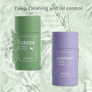 Green Tea Deep Cleansing Clay Mask Oil Control Moisturizing Anti-Acne Face Care