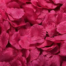 100x Artificial Silk Rose Petals Fake Flower Wedding Table Decorations Confetti