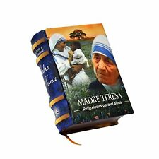 new Miniature Book Madre Teresa reflexiones para el alma Full Color in Spanish