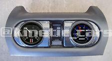 CORSA c chauffage vent 52mm CARBONE EFFET jauge pod panneau adapter.twin Pack