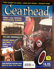 Gearhead® Magazine #17 Hot Rods Kustom Kulture Dirty Donny Cars Punk Mooneyes