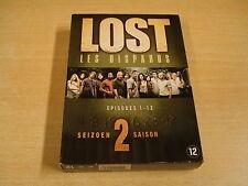 4-DVD BOX / LOST / LES DISPARUS - SEIZOEN 2 - EPISODES 1 -12 ( DEEL 1 )