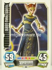 Queen Miraj Scintel  #092 - Force Attax Serie 3
