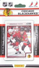 2012-13 Panini Score Hockey Factory Sealed Team Set Chicago Blackhawks (12 Card)