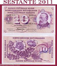 SWITZERLAND / SVIZZERA - 10 FRANKEN 7.2. 1974 sign. 45   - P 45t - FDS / UNC