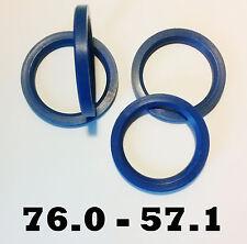4 X 76,0 -57,1 ALLOY WHEEL Spigot Rings Hub Centric Rings AUDI VW MERCEDES SEAT