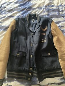 Drop Dead The End Is At Hand Varsity Jacket XL