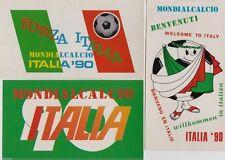 # SPORT - CALCIO: ITALIA '90 (3 cartoline diverse)