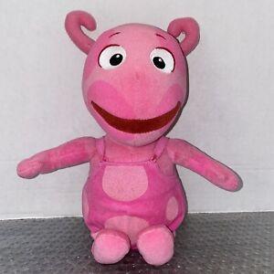 "TY Beanie Babies Uniqua Plush Toy Backyardigans Nickelodeon Nick Jr. Pink 12"""