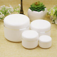 Refillable Bottles Face Cream Lotion Cosmetic Container Plastic Empty Jar Pot^