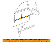 TOYOTA OEM 2000 Avalon FRONT DOOR-Body Side Molding Right 75731AC020E1