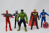 "AVENGERS 2 - AGE OF ULTRON FIGURINES 4.5"" ACTION FIGURES - POSE-ABLE CHARACTERS"