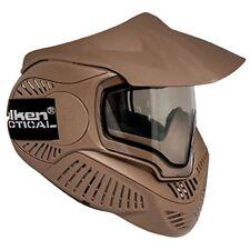 Valken Paintball Goggles - MI-7 Thermal-Tan