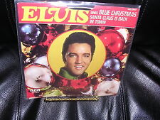 Elvis Sings Blue Christmas and Santa Claus is Back in Town RCA 447-0647 NM / VG+