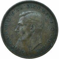 1948 HALF PENNY GB UK KING GEORGE VI.    #WT21625
