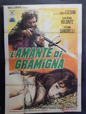 MANIFESTO 4F-L'AMANTE DI GRAMIGNA-CARLO LIZZANI-G.M.VOLONTE'-S.SANDRELLI-3825-