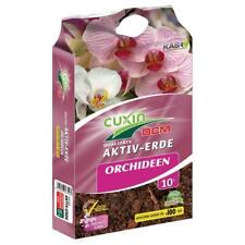 Cuxin Orchideen Aktiv-Erde 10 Liter Orchideenerde Pflanzerde Orchideen Substrat