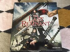 Xbox 360 game -The Last Remnant Rare Pre-Order Box including Faceplate Japan