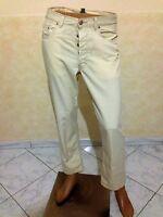 Pantalone RALPH LAUREN TAGLIA SIZE 32 UOMO PANTS MAN COTONE JEANS P 909