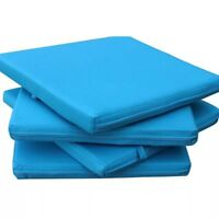 Waterproof Chair Cushion Seat Pads Removable Cover Patio Tie On Garden Soft Pad
