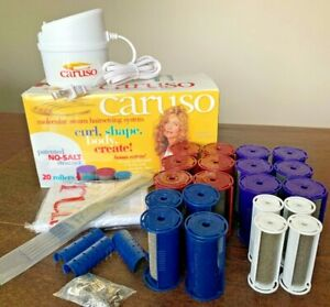Caruso Molecular Steam Hair Setting System No Cell Salt CI-900 Pageant Rollers