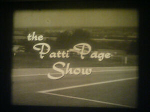 16MM SOUND-THE PATTI PAGE SHOW-1956-GUEST RUSSELL ARMS-OLDSMOBILE COMMERCIALS