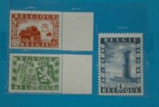 Union belgo-britanique 1950 COB 823 824 825 **