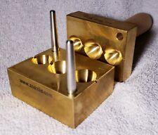 Zooziis Cone Drop Trio Brass Press