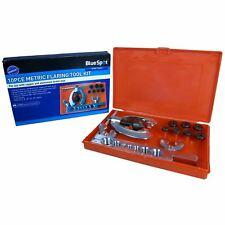 BlueSpot 10pc Metric Pipe Flaring Tool Kit Brake Tube Plumbers Mechanic 5-16mm