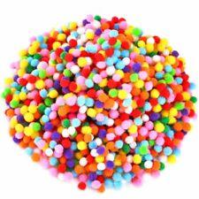 Caydo 2400 Pieces 6mm Pom Poms Pompoms Craft Assorted Colors for Hobby Supplies