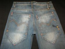 Energie Mens Jeans Relaxed Fit Distressed Wash Italy made 32 X 32