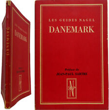 Guide Nagel Danemark 1952 préface Jean Paul Sartre intro Louis Tissot cartes