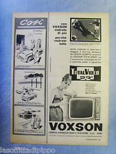 LAUTOM960-PUBBLICITA'/ADVERTISING-1960- VOXSON TOTAL VIDEO 23""
